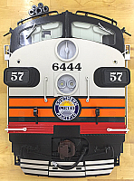 Stoddarts Ltd. 57 - 3D Railroad Wall Artwork - Southern Pacific F7 Black Widow