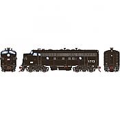 Athearn Genesis G19542 HO Scale - F7A EMD F-Unit Diesel - DCC & Sound - Penn Central #1773