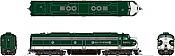 Rapido 28537 HO - EMD E8A (DC/DCC/Sound) Southern - Crescent Scheme #6916F