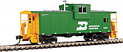 Walthers 8702 HO Mainline International Extended Wide-Vision Caboose - Burlington Northern BN #10534