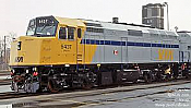 Rapido 80550 HO F40PH 2D VIA Rail As delivered 6449 ESU LokSound DCC & Sound- Taking Orders Now