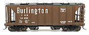 Intermountain 48685-6 HO 1958 Cu Ft 2 Bay Covered  Hopper- Closed Sides - Colorado and Southern #19073
