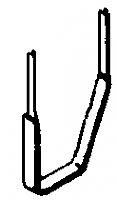 A-Line Product 29001 - HO Stirrup Steps (Style B) - 25pcs