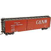 Kadee 6413 - HO RTR 50ft PS-1 Boxcar - Chicago and North Western CNW #4195