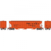 Athearn RTR 81754 - HO FMC 4700 Covered Hopper - D&RGW/Rio Grande #15629 (#1)
