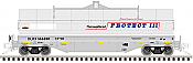Atlas Model Railroad 20005600 HO 42 ft Coil Steel Car with Fish Belly Side Sill DLRX #166297