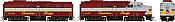 Rapido 37012 - HO Alco FA-1 & FB-1 Set - DCC Ready - Canadian Pacific (Script Scheme) #4019, 4416