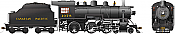 Rapido 602507 HO D10k Canadian Pacific #1078 DC/DCC/Sound Pre-Order coming 2020