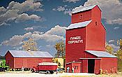 Walther's Cornerstone Farmers Cooperative Rural Grain Elevator