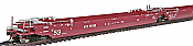 Intermountain Railway Maxi IV Stack Car AOK Container 3 car set