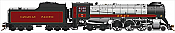 Rapido Trains 600502 HO Scale Canadian Pacific Royal Hudson CPR #2823 Classes H1c - DCC & Sound