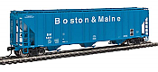 Walthers Proto 106154 - HO 55Ft Evans 4780 Covered Hopper - Boston & Maine #5401
