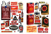 JL Innovative Design 185 HO - Alcohol, Tobacco and Chewing Gum 1940s and 1950s