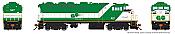 Rapido 19509 HO GMD F59PH DCC/Sound Special Logo Go Transit #527