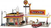 Woodland Scenics 5029 - HO Built-&-Ready Landmark Structures - Drive-n-Dine