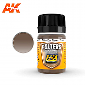AK Interactive 262 Filter for Red Brown  Wood Enamel Paint 35ml