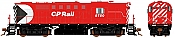 Rapido 32543 HO MLW RS-18 DRS-18b CP Rail (8 inch Stripes) DCC & Sound - 8785 w/Ditch Lights - Taking Orders Now