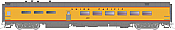 Rapido Trains 124057 HO Scale Pullman-Standard Lightweight Diner Union Pacific #4803 Pre Order
