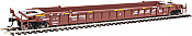 Walthers Mainline 55069 - HO 53 ft Well Car - BNSF #211556 (3pk)