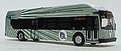 Iconic Replica 87-0258 - 1:87 NFI Xcelsior XN40: DDOT Detroit