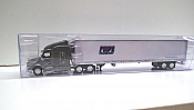 Trucks n Stuff TNS113 - HO Peterbilt 579 Sleeper-Cab Tractor - 53ft Reefer Trailer - Pride Transport