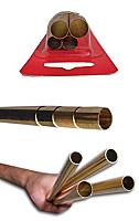 K&S Engineering 3401 All Scale - Medium Brass Telescopic Tube Assortment (4 pkg)