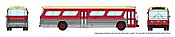 Rapido 573006 N - 1/160 New Look Bus - Toronto (Maroon)