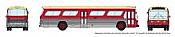 Rapido 573006 N - 1/160 New Look Bus - Toronto (Maroon)