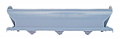Intermountain Railway 42098 HO ACF 4650 Cubic Foot 3-Bay Hopper - Undecorated - Phase I - Single Rib Stiffener