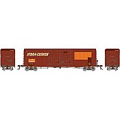 Athearn Genesis G87980 HO 50 Ft PC&F Box/8 Ft & 8 Ft YSD Plug, Illinois Central  #532861 - Ex Southern Pacific