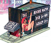 Downtown Deco N Scale - The Boobie Hatch - Cast-Hydrocal Kit