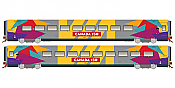 Rapido Trains 108054 HO LRC Business - Canada 150 Wrap Scheme #3476 - Pre-order