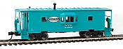 Walthers Mainline 8668 - HO International Bay Window Caboose - New York Central #21024