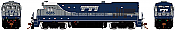 Rapido 18050 HO GE B36-7  - Transkentucky Transportation 5915 (Silver) DCC Ready - Taking Orders Now