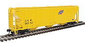 Walthers Mainline 7460 - HO 50ft PS-2 CD 4427 Covered Hopper - Chicago & North Western #96310