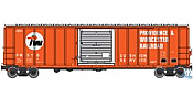 Walthers Mainline HO 2188 50ft ACF Exterior Post Boxcar Providence and Worcester No.310 (Red,white,black)