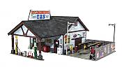 Woodland Scenics 5048 HO Built-Up Ethyl's Gas & Service