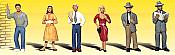 Woodland Scenics 2121 - N Scenic Accent Figures - Pedestrians (6/pkg)
