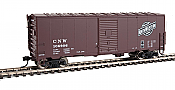 Walthers Mainline 1185 - HO 40ft AAR Modernized 1948 Boxcar - Chicago & North Western #106920