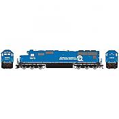 Athearn 70602 HO SD70 DCC & Sound Conrail #2573