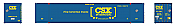 Rapido 402006 HO 53' High-Cube Container - CSX Intermodal – Boxcar (CSXU) 632475 (2-pack) Pre-Order