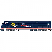 Athearn G81314 - HO Scale AMD103/P42 - DCC & Sound - Amtrak (50th Anniversary Blue) #100