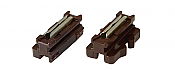 Kato 24819 N Scale - Brown Unitrack Unijoiner - pkg(20)