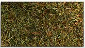 """Heki Scenery 1574 Savannah Green Wild Grass FIBER Pad - 11 x 5-1/2"""" X 1/2"""" - 28 x 14 X 1.2 cm"""