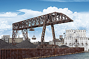 Walthers Cornerstone 2906 - HO Bridge Crane - Kit