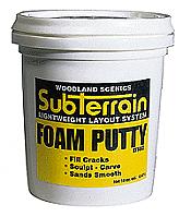 Woodland Scenics 1447 SubTerrain System Foam Accessories Foam Putty 1 Pint
