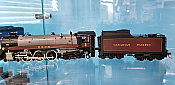 Rapido Trains 600501 HO Scale Canadian Pacific Royal Hudson CPR #2820 Classes H1c - DCC & Sound
