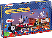 Bachmann Industries Thomas the Tank Engine Sets with E-Z Track System -- Deluxe Thomas with Annie and Clarabel