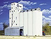 Walther's 3022 HO Cornerstone ADM Grain Elevator (Concrete)