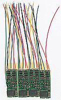 NCE 101 Decoder HO Scale D13SR - 4 pack